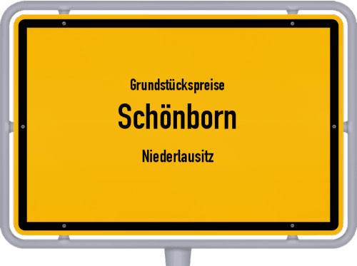 Grundstückspreise Schönborn (Niederlausitz) 2021
