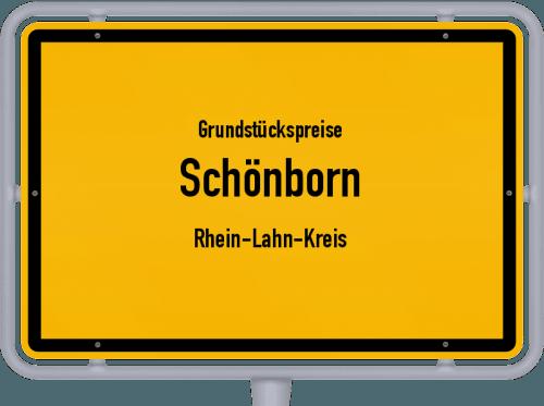 Grundstückspreise Schönborn (Rhein-Lahn-Kreis) 2019