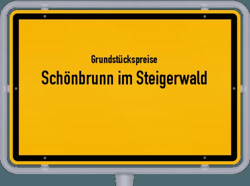 Grundstückspreise Schönbrunn im Steigerwald 2019