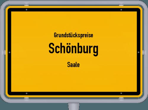 Grundstückspreise Schönburg (Saale) 2021