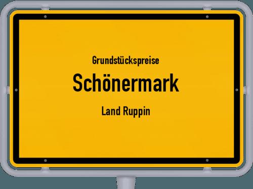 Grundstückspreise Schönermark (Land Ruppin) 2021