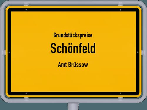 Grundstückspreise Schönfeld (Amt Brüssow) 2021