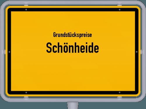 Grundstückspreise Schönheide 2019