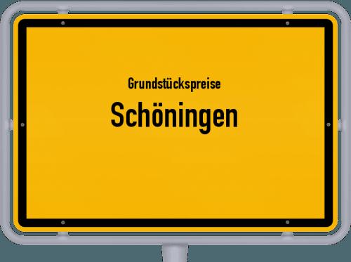 Grundstückspreise Schöningen 2021