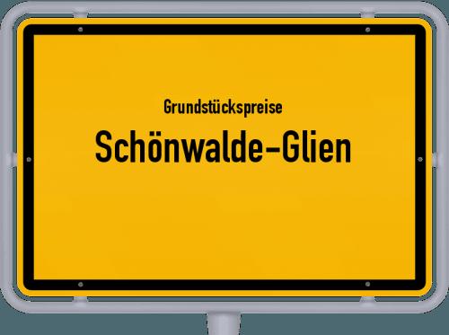Grundstückspreise Schönwalde-Glien 2021