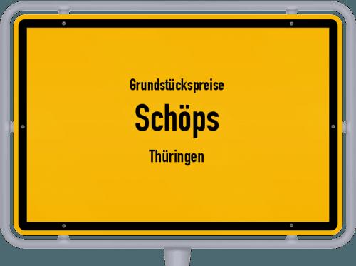 Grundstückspreise Schöps (Thüringen) 2019
