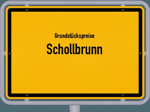 Grundstückspreise Schollbrunn 2021
