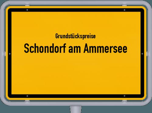 Grundstückspreise Schondorf am Ammersee 2021