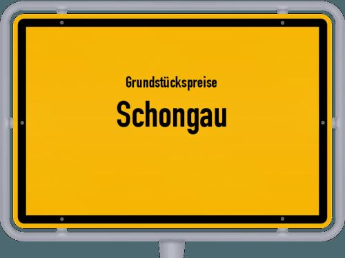 Grundstückspreise Schongau 2019