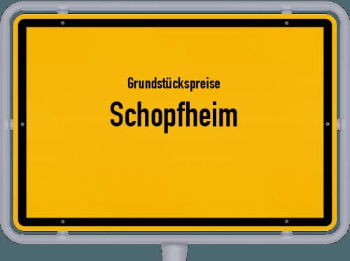 Grundstückspreise Schopfheim 2021