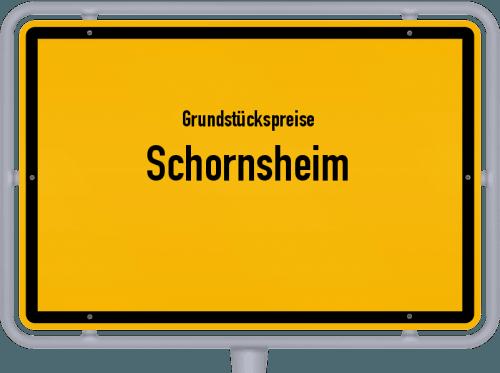 Grundstückspreise Schornsheim 2019