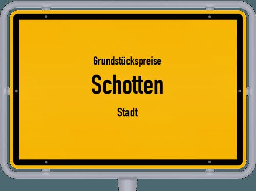 Grundstückspreise Schotten (Stadt) 2018