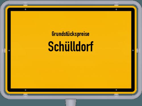 Grundstückspreise Schülldorf 2021