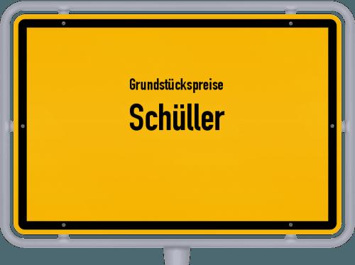 Grundstückspreise Schüller 2019