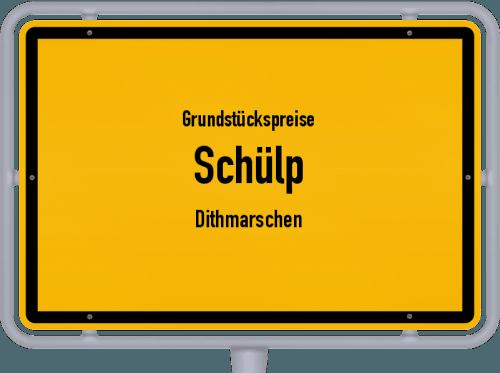 Grundstückspreise Schülp (Dithmarschen) 2021