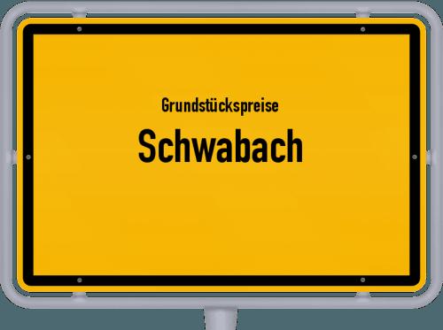 Grundstückspreise Schwabach 2019