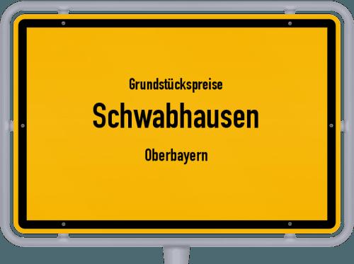 Grundstückspreise Schwabhausen (Oberbayern) 2019