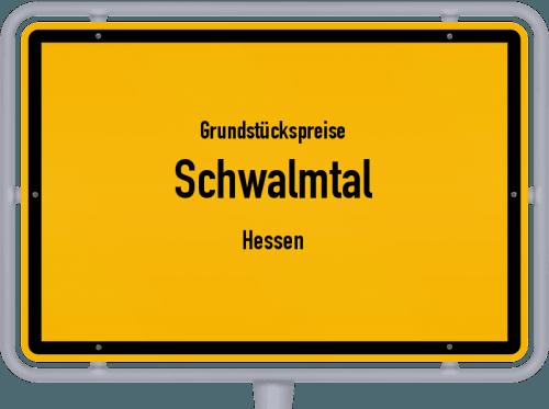 Grundstückspreise Schwalmtal (Hessen) 2018