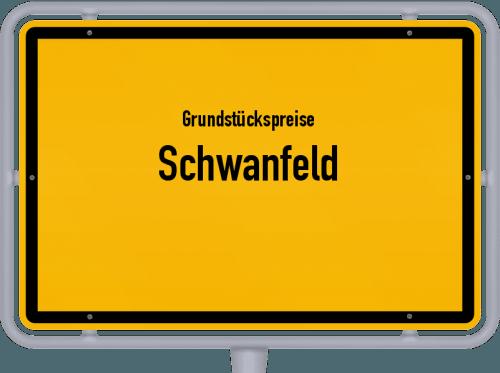 Grundstückspreise Schwanfeld 2019