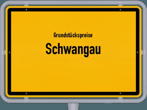 Grundstückspreise Schwangau 2021
