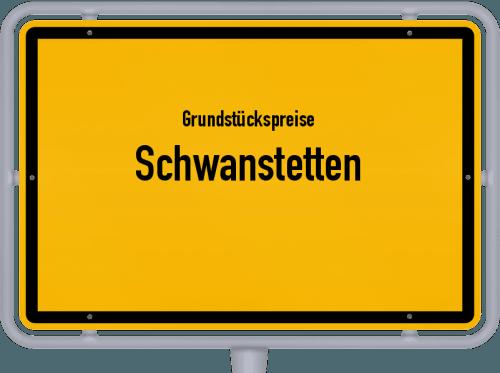 Grundstückspreise Schwanstetten 2019