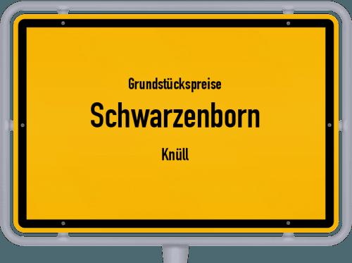 Grundstückspreise Schwarzenborn (Knüll) 2018