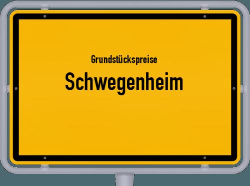 Grundstückspreise Schwegenheim 2019
