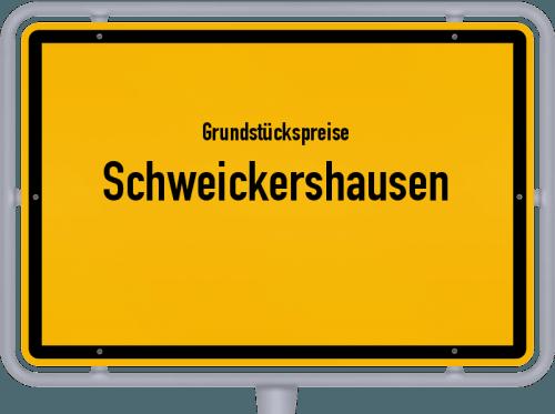 Grundstückspreise Schweickershausen 2019