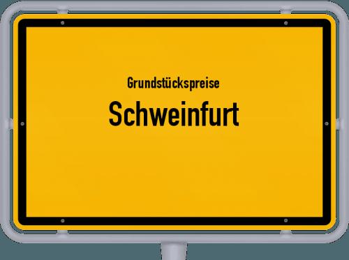 Grundstückspreise Schweinfurt 2019