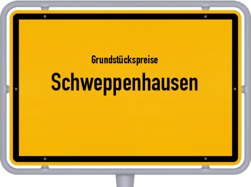 Grundstückspreise Schweppenhausen 2019