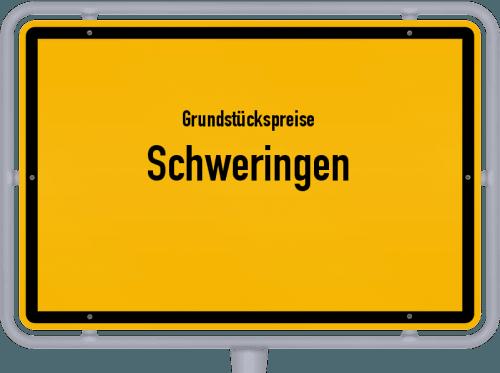 Grundstückspreise Schweringen 2021