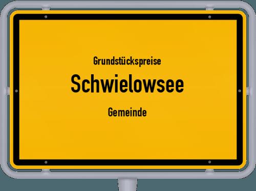 Grundstückspreise Schwielowsee (Gemeinde) 2021