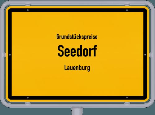 Grundstückspreise Seedorf (Lauenburg) 2021