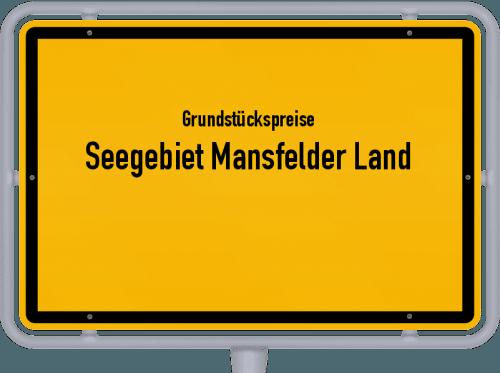 Grundstückspreise Seegebiet Mansfelder Land 2021