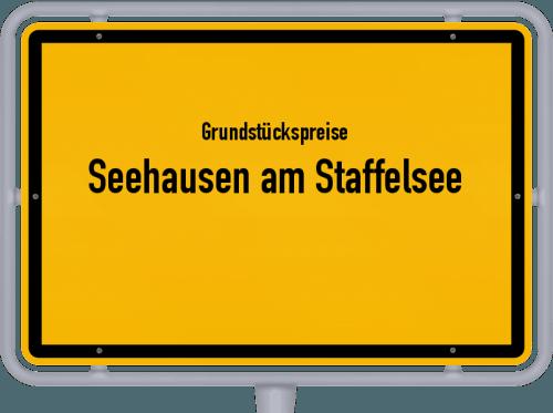 Grundstückspreise Seehausen am Staffelsee 2019