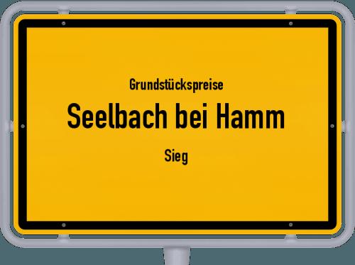 Grundstückspreise Seelbach bei Hamm (Sieg) 2019