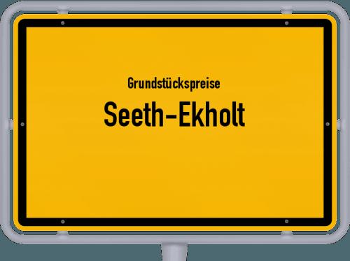 Grundstückspreise Seeth-Ekholt 2021