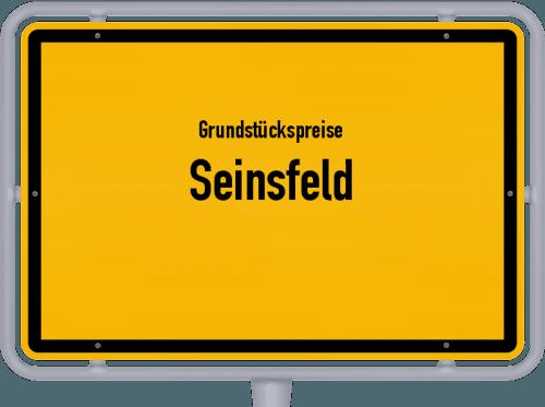 Grundstückspreise Seinsfeld 2019