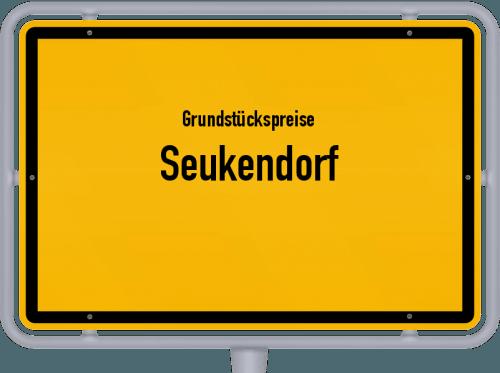 Grundstückspreise Seukendorf 2019