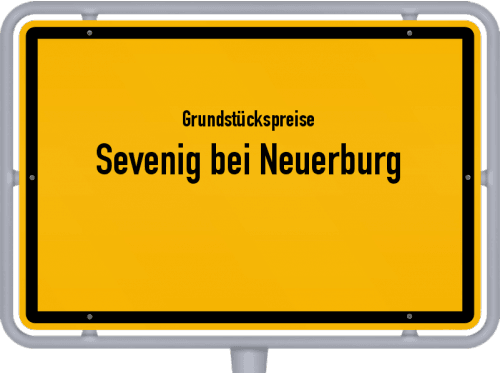 Grundstückspreise Sevenig bei Neuerburg 2019