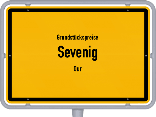 Grundstückspreise Sevenig (Our) 2019