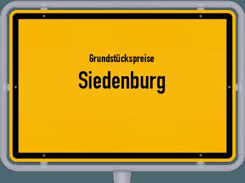 Grundstückspreise Siedenburg 2021