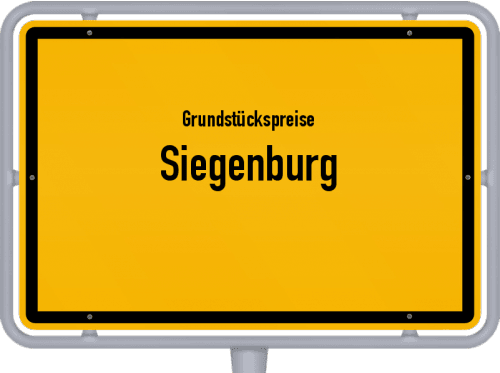 Grundstückspreise Siegenburg 2019