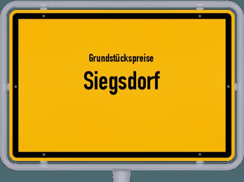 Grundstückspreise Siegsdorf 2019