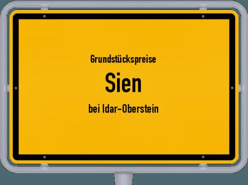 Grundstückspreise Sien (bei Idar-Oberstein) 2019