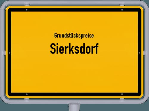Grundstückspreise Sierksdorf 2021