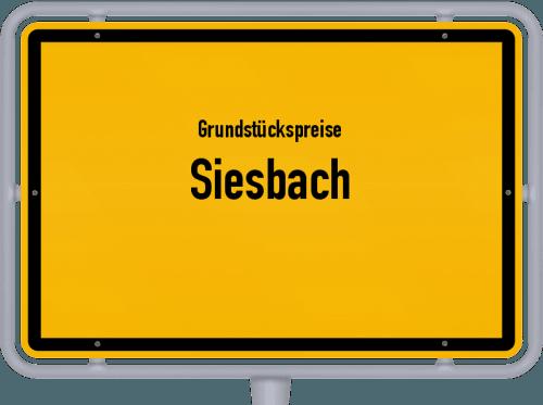 Grundstückspreise Siesbach 2019