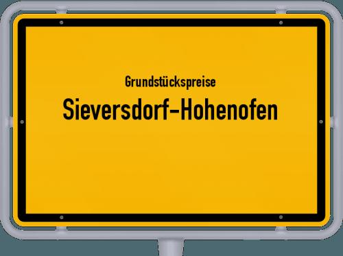 Grundstückspreise Sieversdorf-Hohenofen 2021