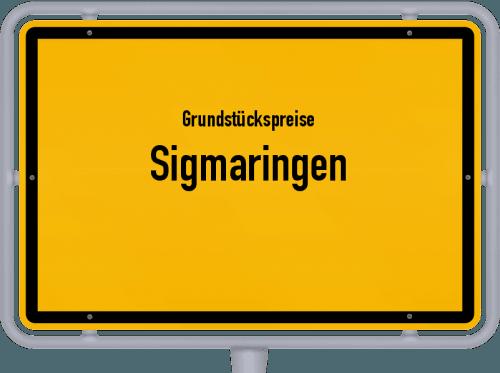 Grundstückspreise Sigmaringen 2021