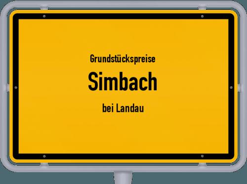 Grundstückspreise Simbach (bei Landau) 2019